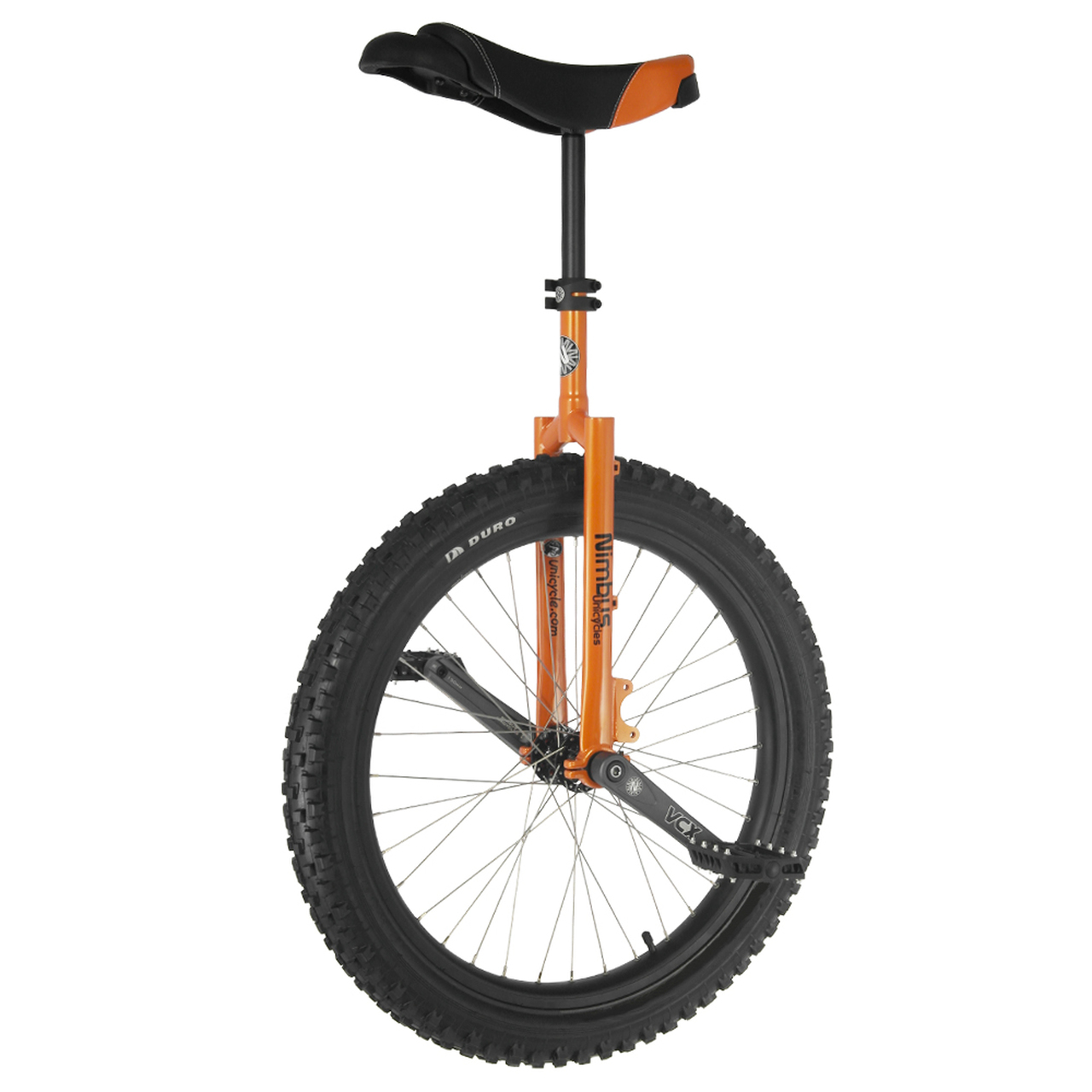 "Nimbus 24"" Mountain Unicycle - Black"