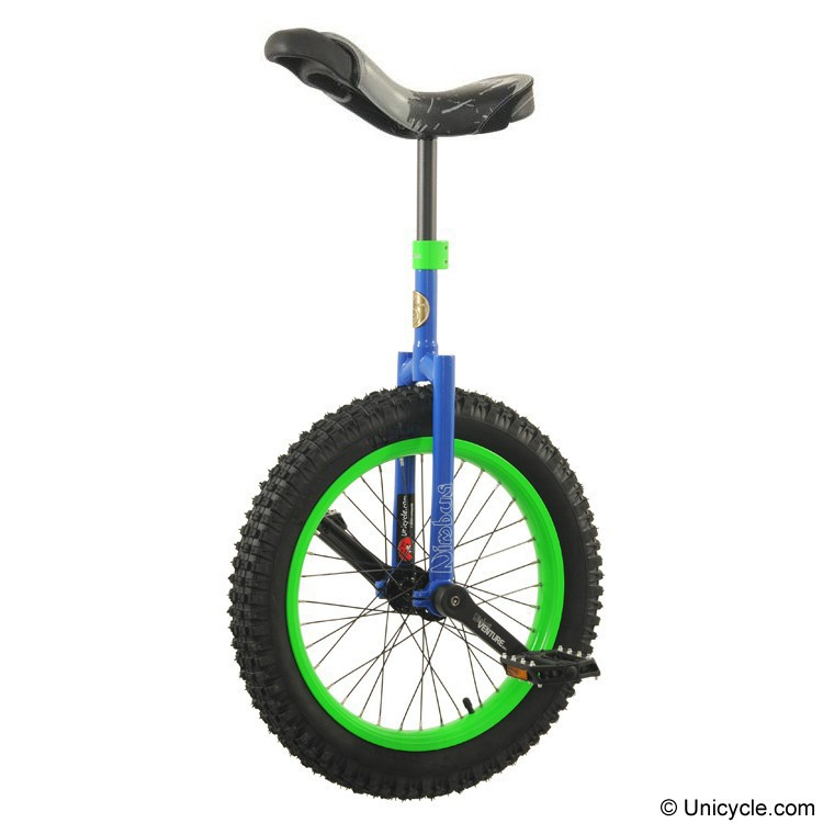 "Nimbus 19"" Gremlin Trials Unicycle - Blue"