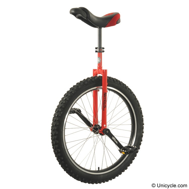 "Nimbus-26""-Mountain-Unicycle--Red"