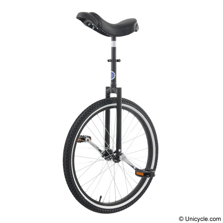 "Club 24"" Freestyle Unicycle - Black"