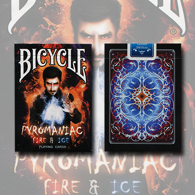Bicycle Pyromaniac Fire and Ice (Limited Edition) Deck by Collectable Playing Cards