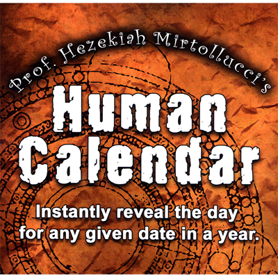 The Human Calendar by Dave Mirto