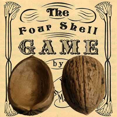 Four Superior Walnut Shells
