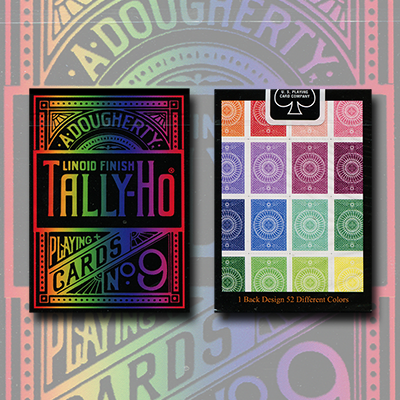 Spectrum Tally Ho Deck by US Playing Card Co