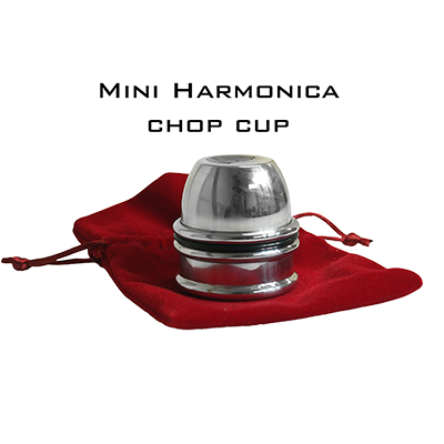 Mini Harmonica Chop Cup (Aluminum) by Leo Smetsers