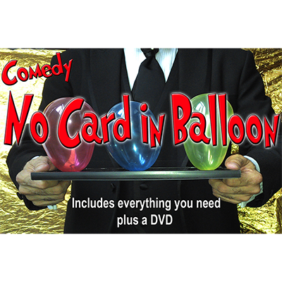 NO Card in Balloon! by Quique Marduk