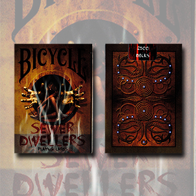 Bicycle Sewer Dwellers (Limited Edition) by Collectable Playing Cards*