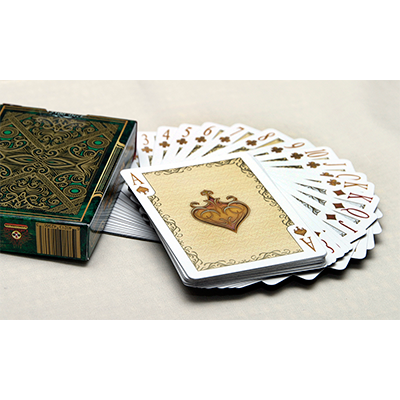 Bicycle Elegance Deck Emerald (Limited Edition) by Collectable Playing Cards*