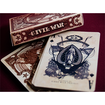 Bicycle Civil War Deckby US Playing Card Co