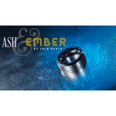 Ash and Ember Silver Beveled by Zach Heath