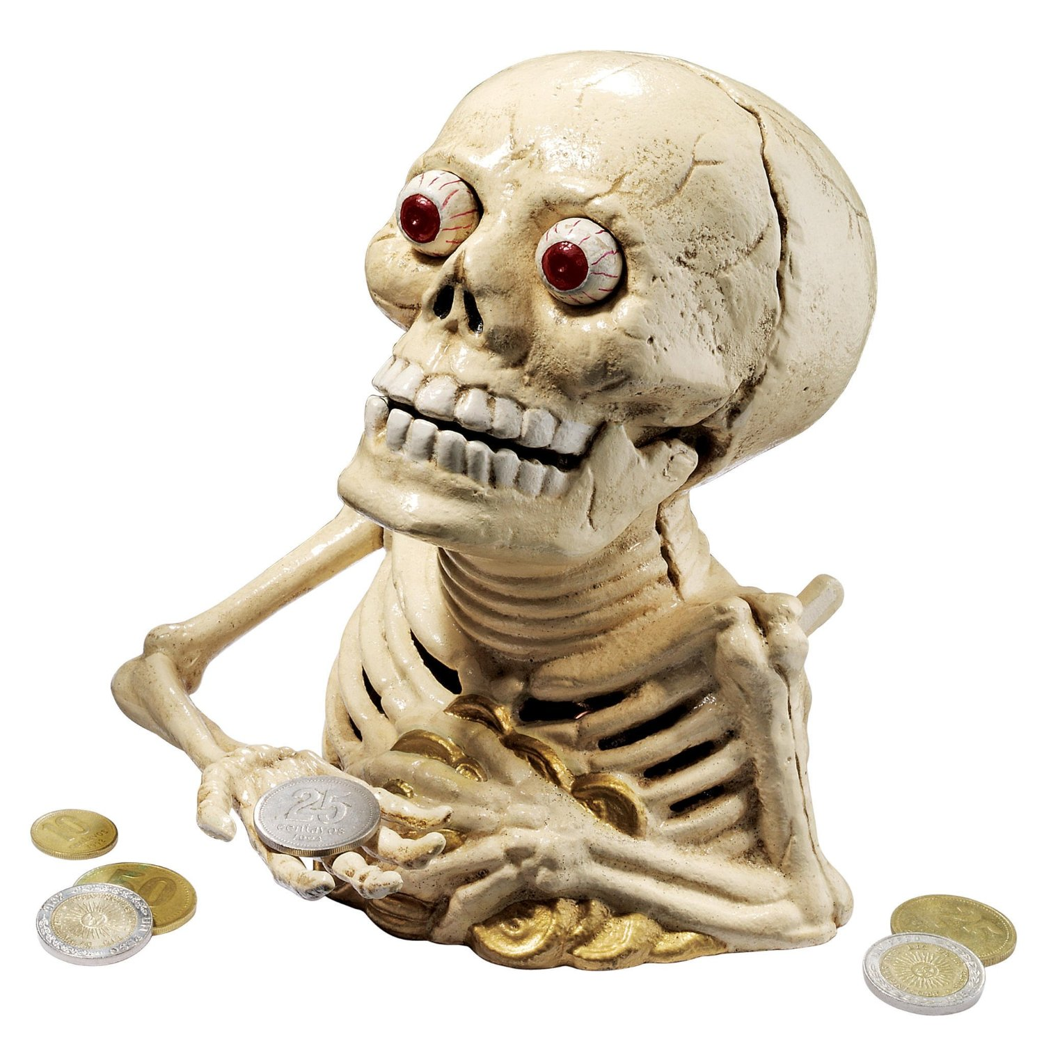 BuggedOut-Hungry-Skeleton-Cast-Iron-Mechanical-Coin-Bank