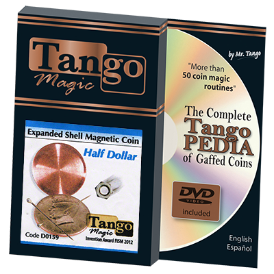 Expanded Shell Half Dollar Magnetic by Tango