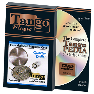 Expanded Shell Quarter Magnetic by Tango