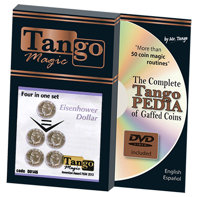 Four in One Eisenhower Dollar  Set by Tango