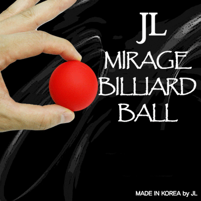 2 Inch Mirage Billiard Balls by JL (RED, single ball only)