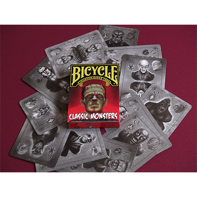 Classic Monsters (Limited Edition Colored Tuck) by Classics Playing Cards
