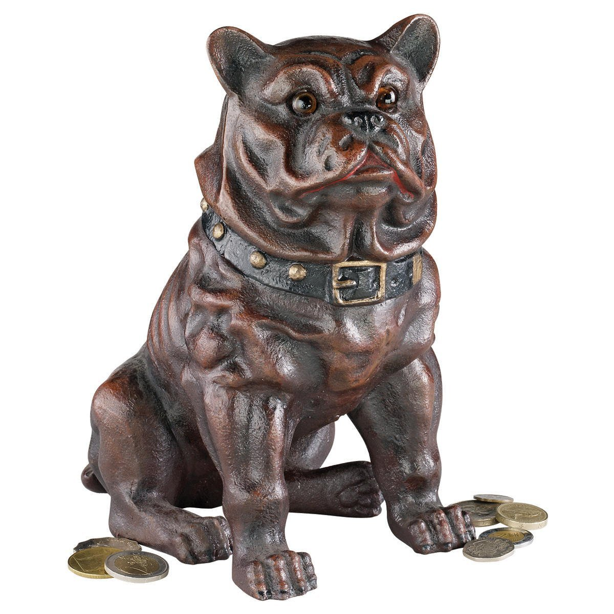 The Sitting British Bulldog Mechanical Bank