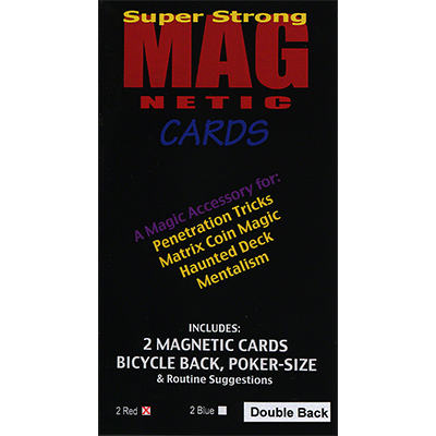 Magnetic Card (Double Back) by Chazpro Magic