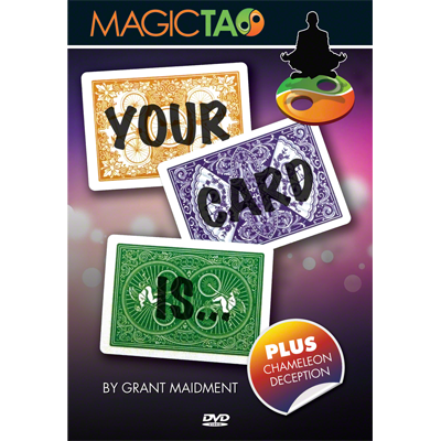 Your Card Is by Grant Maidment and Magic Tao*