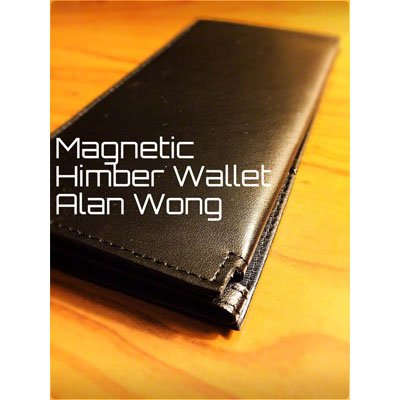 Leather Magnetic Himber Wallet by Alan Wong