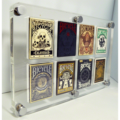 8 Deck Card Case by Gambler`s Warehouse