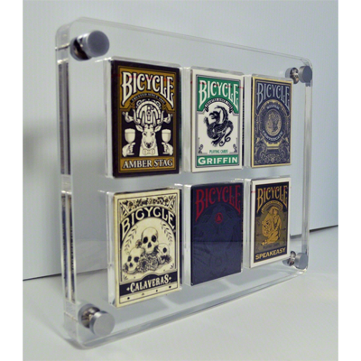 6 Deck Card Case by Gambler`s Warehouse