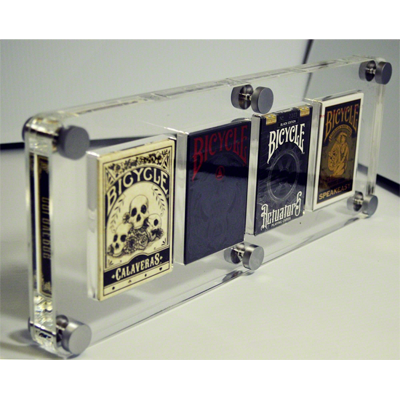 4 Deck Card Case by Gambler`s Warehouse