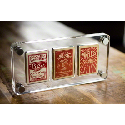 3 Deck Card Case by Gambler`s Warehouse