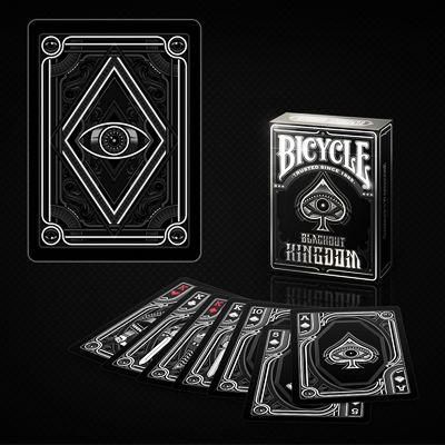 Bicycle Blackout Kingdom  Deck by Gambler`s Warehouse