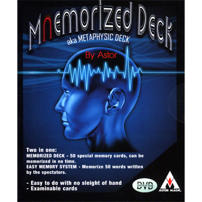 Mnemorized Deck by Astor