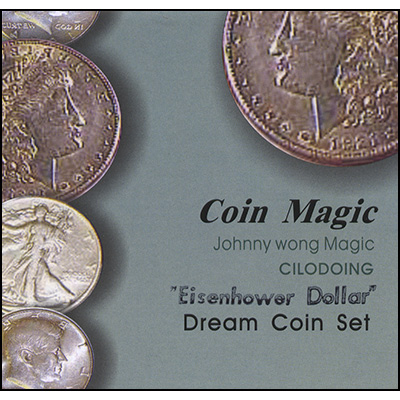 Dream Coin Set EISENHOWER (with DVD) by Johnny Wong
