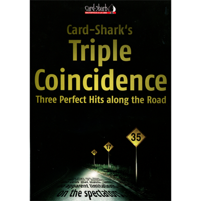 Triple Coincidence (Poker Size Red) by Card-Shark*