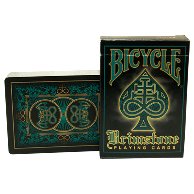 Bicycle Brimstone Deck - Aqua