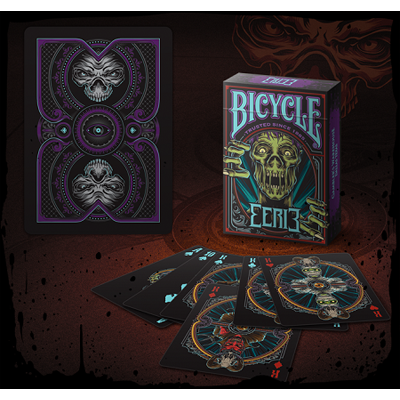 Bicycle Eerie Deck (Purple) by Gambler`s Warehouse