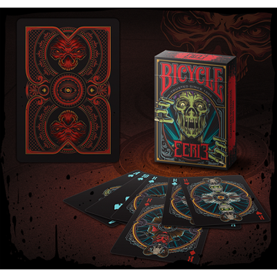 Bicycle Eerie Deck (Red) by Gambler`s Warehouse