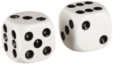 Points Steel Dice