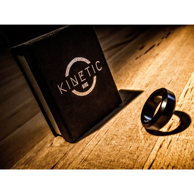 Kinetic PK Ring (Black) Beveled by Jim Trainer