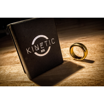 Kinetic PK Ring (Gold) Beveled by Jim Trainer