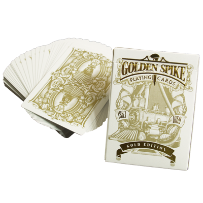 Limited-Gold-Edition-1st-Run-Golden-Spike-Deck-by-Jody-Eklund
