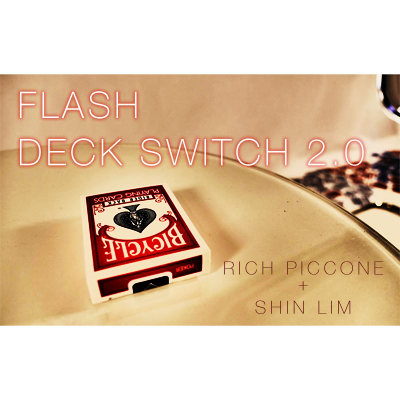 Flash-Deck-Switch-2.0-Improved-/-Red-by-Shin-Lim