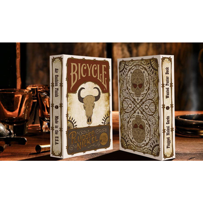 Plugged Nickel Playing Cards by Matt Drake