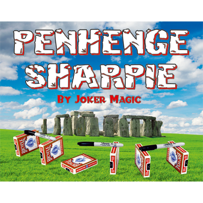 Penhenge Sharpie by Joker Magic