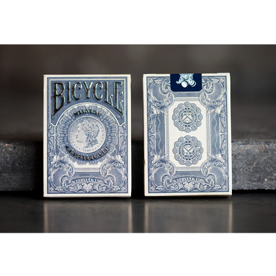 Bicycle Silver Certificate Deck by Gambler`s Warehouse