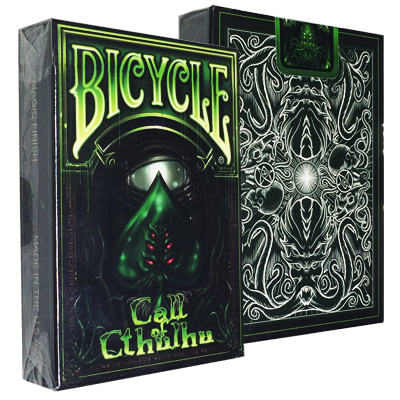 Bicycle Call of Cthulhu Deck - Green (Limited Edition) by Gambler`s Warehouse