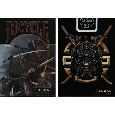 Bicycle Feudal Samurai Deck by Crooked Kings