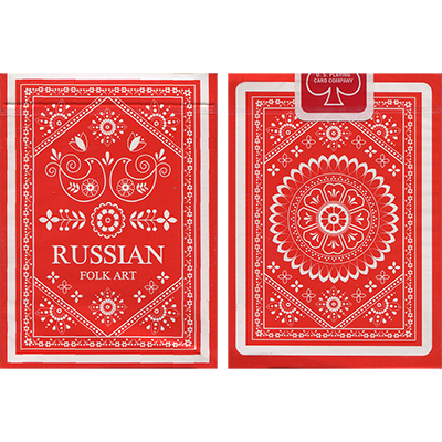 Russian Folk Art Deck by Natalia Silva