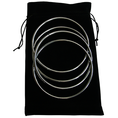 Close Up Linking Rings SILVER by Matthew Garrett
