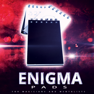 Enigma Pad (bonus 3 pack) by Paul Romhany