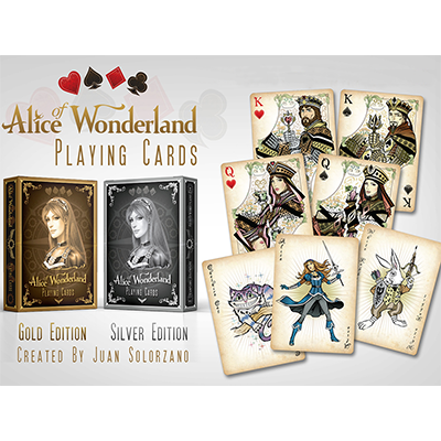 Alice of Wonderland Silver by Gamblers Warehouse