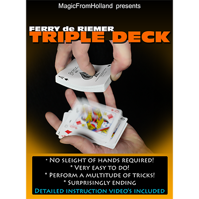 Triple Deck by Ferry De Riemer